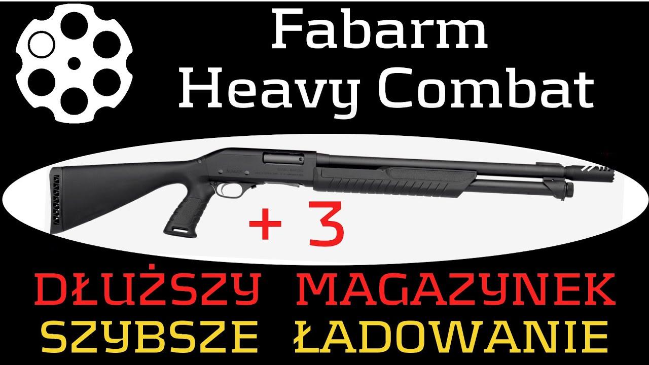 #164 Strzelba Fabarm SDASS Heavy Combat - łatwiejsze ładowanie.