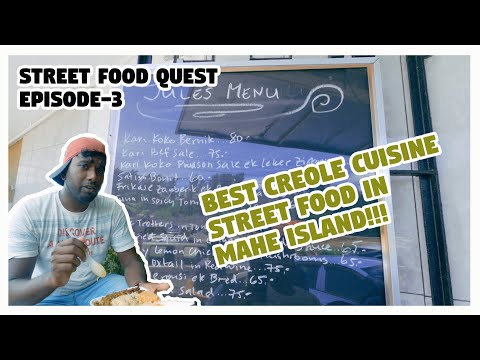 Creole street food at cascade, Seychelles island(Jules take way-Budget friendly)