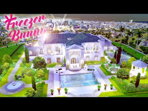 Decadence Estate 🤩 💰 | The Sims 4 Get Famous | Speed Build Part 2/2 | CC Free + Download Links