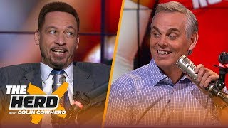 Chris Broussard thinks Rockets will win 50+ games, says Nets won't make Finals | NBA | THE HERD