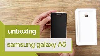 Unboxing | Smartphone Samsung Galaxy A5 2016 | Americanas.com