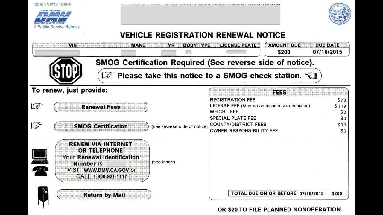 Pa Motor Vehicle Registration Renewal