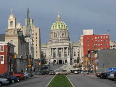Harrisburg is the capital of the Commonwealth of Pennsylvania,  United States of America