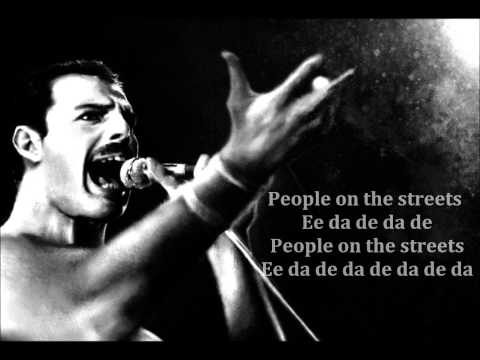 Queen & David Bowie - Under Pressure - With Lyrics