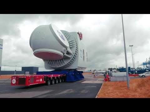 GE Renewable Energy's Haliade-X 12 MW nacelle unveiled