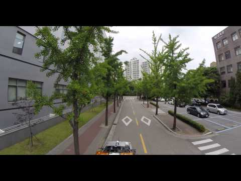 SKKU Suwon campus, walking down campus streets with the phantom!