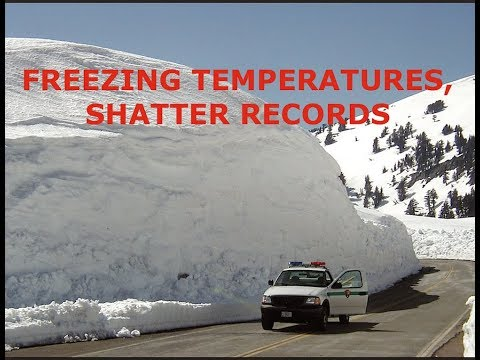 Freezing Temperatures Shatter Records, Stocks Dropping Like Bricks From the Sky, Latest Headlines