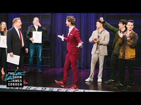 Maxwell - The Jonas Brothers And James Corden Left Stunned By Mentalist Lior Suchard