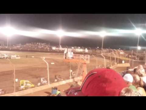 USAC Midgets Feature Part 2/2  Kokomo Speedway