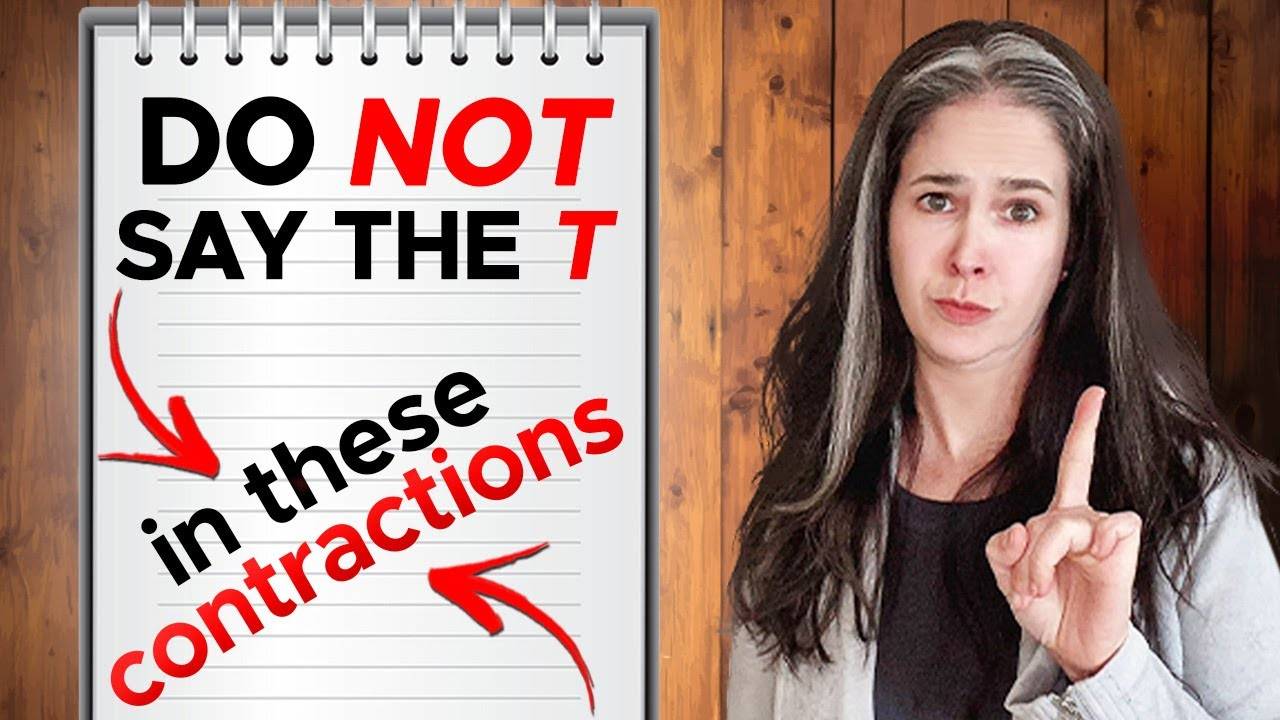 English Contractions | Speak Fast English with the n't Contraction