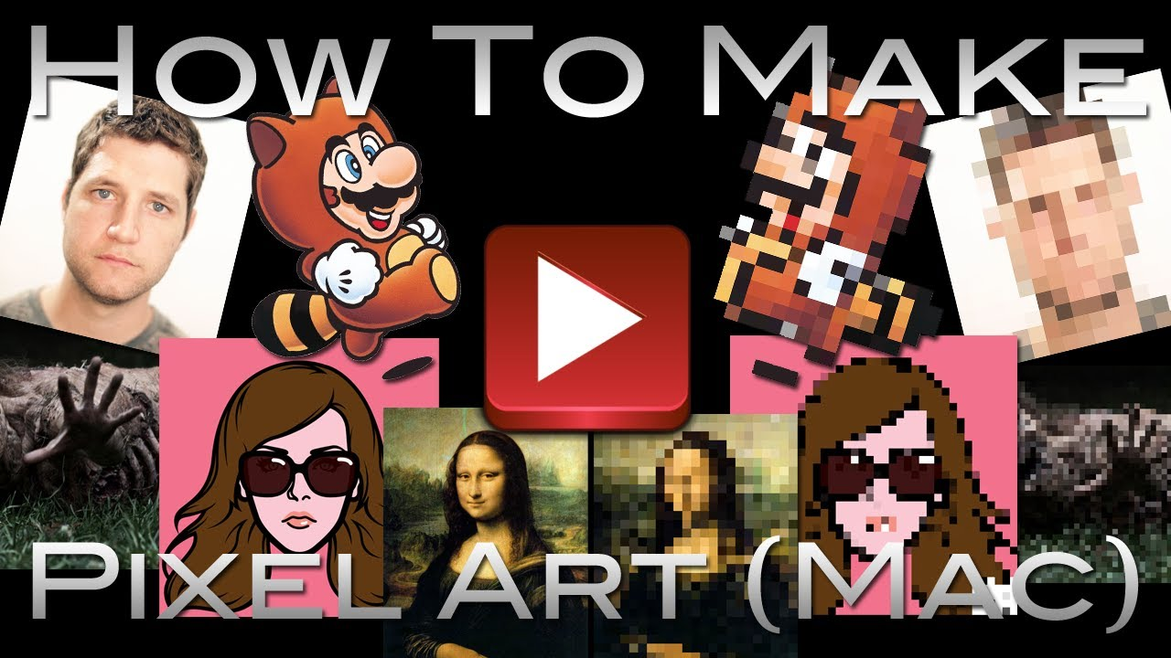 How To Make Pixel Art On Mac (No Software Required)