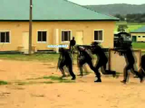 Anti-terrorism training for Soldiers and NSCDC in Kaduna