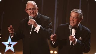 The Pensionalities croon to One Direction's History!   Semi-Final 4   Britain's Got Talent 2017