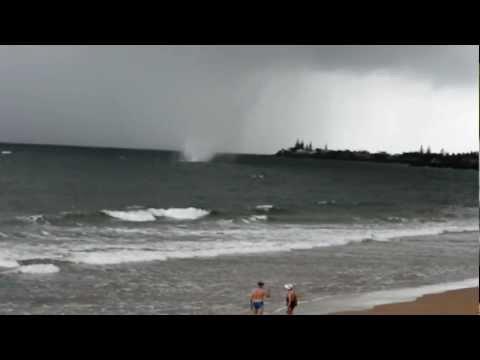 Waterspouts In Bargara, Kellys Beach