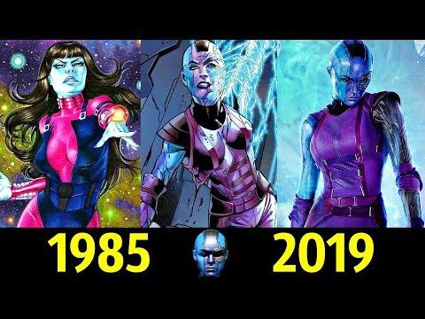 🔵 Небула - Эволюция (1985 - 2019) ! Все появления 👊!