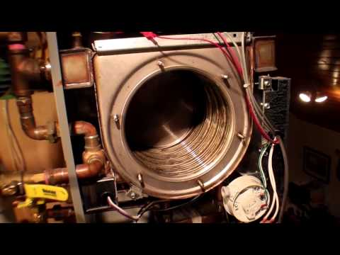 Obadiah's: NTI Trinity 150 Combi Boiler - Cleaning Out The Combustion Chamber