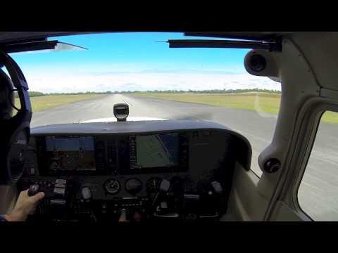 Lantana Airport, Florida (KLNA), Platzrunden und Beach am 16 10 2013 1