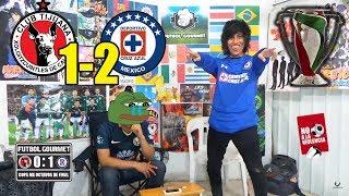 Reaccion al Xolos vs Cruz Azul (1-2) | OCTAVOS DE FINAL  | COPA MX
