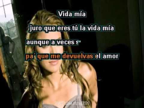 OLVIDARTE ES IMPOSIBLE   Adriana Lucia Karaoke