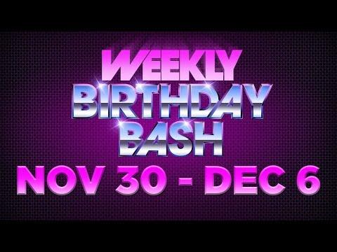 Celebrity Actor Birthdays - November 30 - December 6, 2014 HD