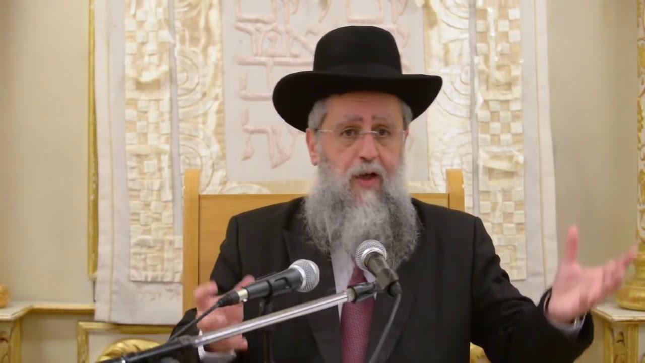 הרב דוד יוסף בעל הלכה ברורה שיעור הלכות נר שבת בבית מדרש יחוה דעת