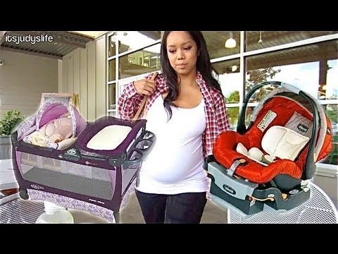 BABY BUYS! - August 21, 2012 - ItsJudysLife Vlog