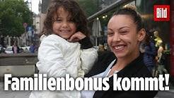 Das kaufen Eltern von den 300 Euro | Familienbonus