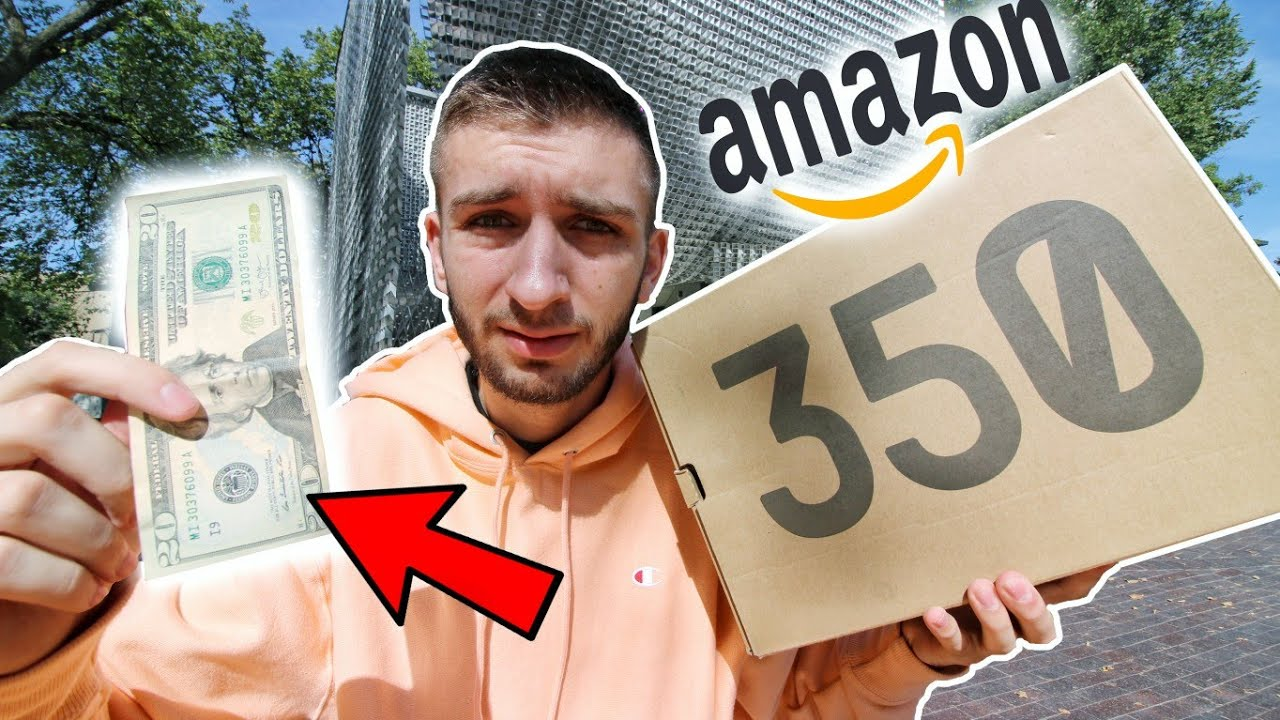 a1000aba3 I BOUGHT YEEZYS FOR  20 FROM AMAZON! THIS IS WHAT HAPPENED... - YouTube