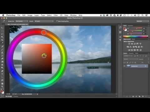 Adobe Photoshop CC For Photographers Tutorial | Adjusting Color Picker Options