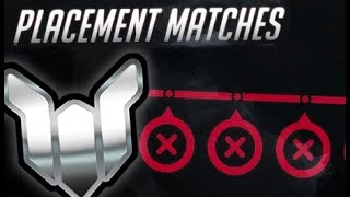 Serious Season 7 Overwatch Placement Matches