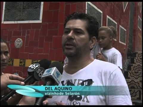 Polícia investiga morte do artista Jorge Selarón  - Repórter Brasil (noite)
