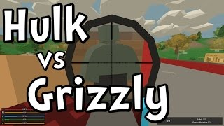 UNTURNED 3.0 Hulk Zombie vs Grizzly Sniper Rifle!