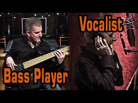 Bass Player and Singer - Session Musician