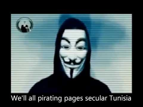 anonymous (the pages Tunisia) attack -- hack'**A* 2012