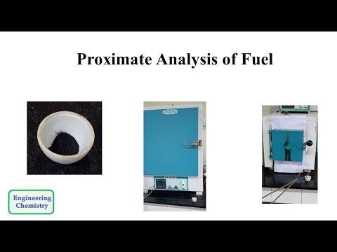 Proximate Analysis Of Fuel/Coal