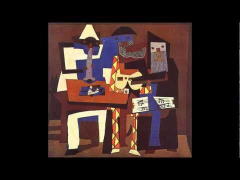 Pablo Picasso Cubist Movement. Music Nana Mouskouri