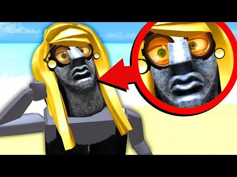 ROBLOX'S REALLY UGLY REALISTIC CHARACTER...