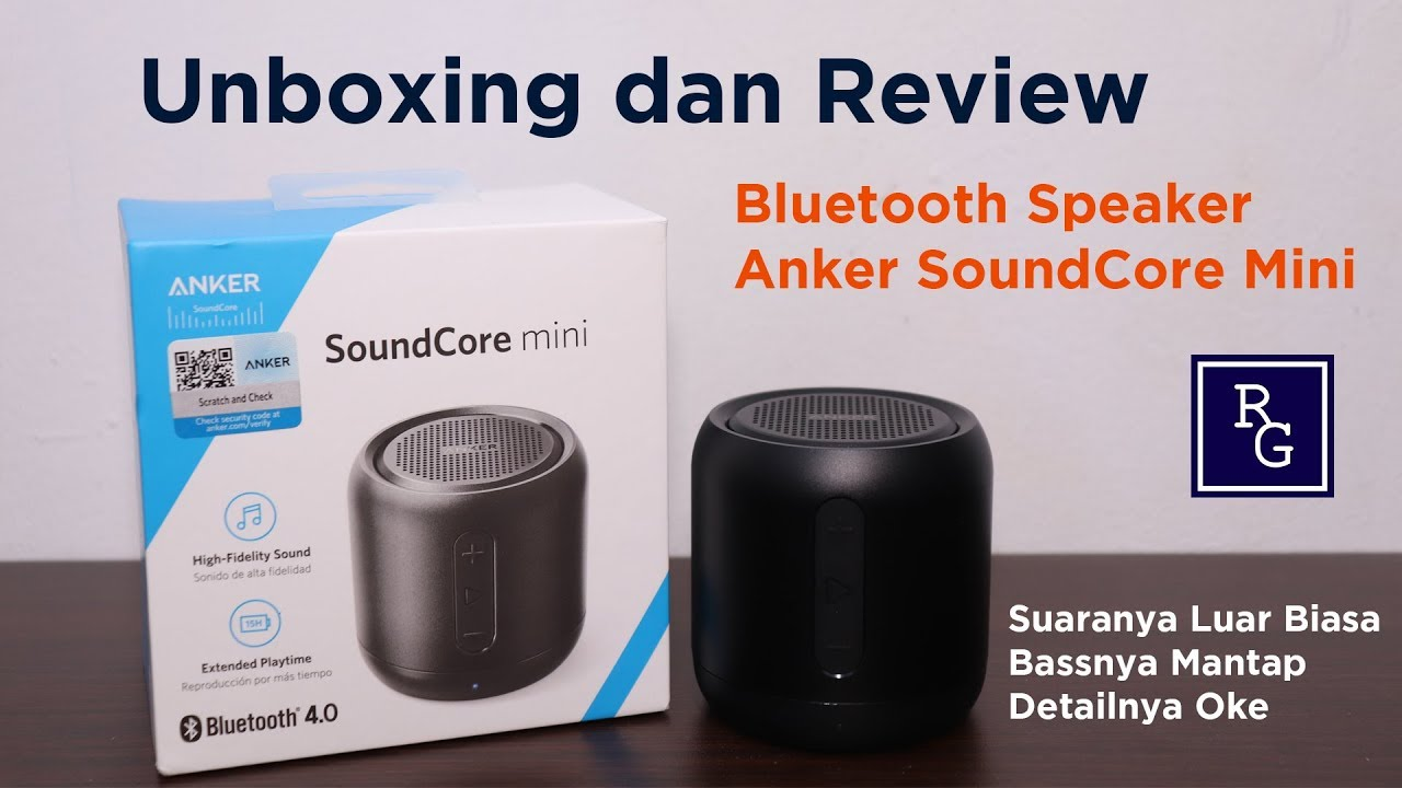 Unboxing dan Review Bluetooth Speaker Anker SoundCore Mini | ReviewGadgetIndonesia