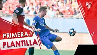 El Sevilla FC supera al FC Dallas con dos goleadores inéditos