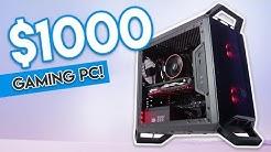 INSANE $1000 GAMING PC BUILD 2018! [1440p Gaming @ 60FPS!]