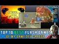 The TOP TEN Flash games of my game dev career! Games Gladiator #50