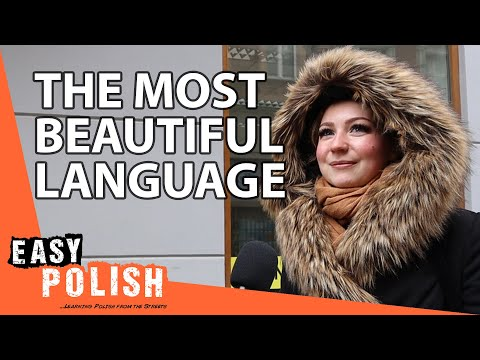 What's the Most Beautiful Language in the World? | Easy Polish 132