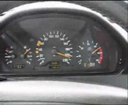 Mercedes w202 s202 Front Tablier Bas