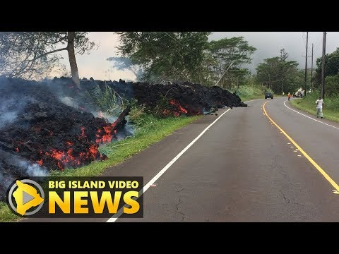 Puna Eruption Meeting: Highways & Escape Routes (May 29, 2018)