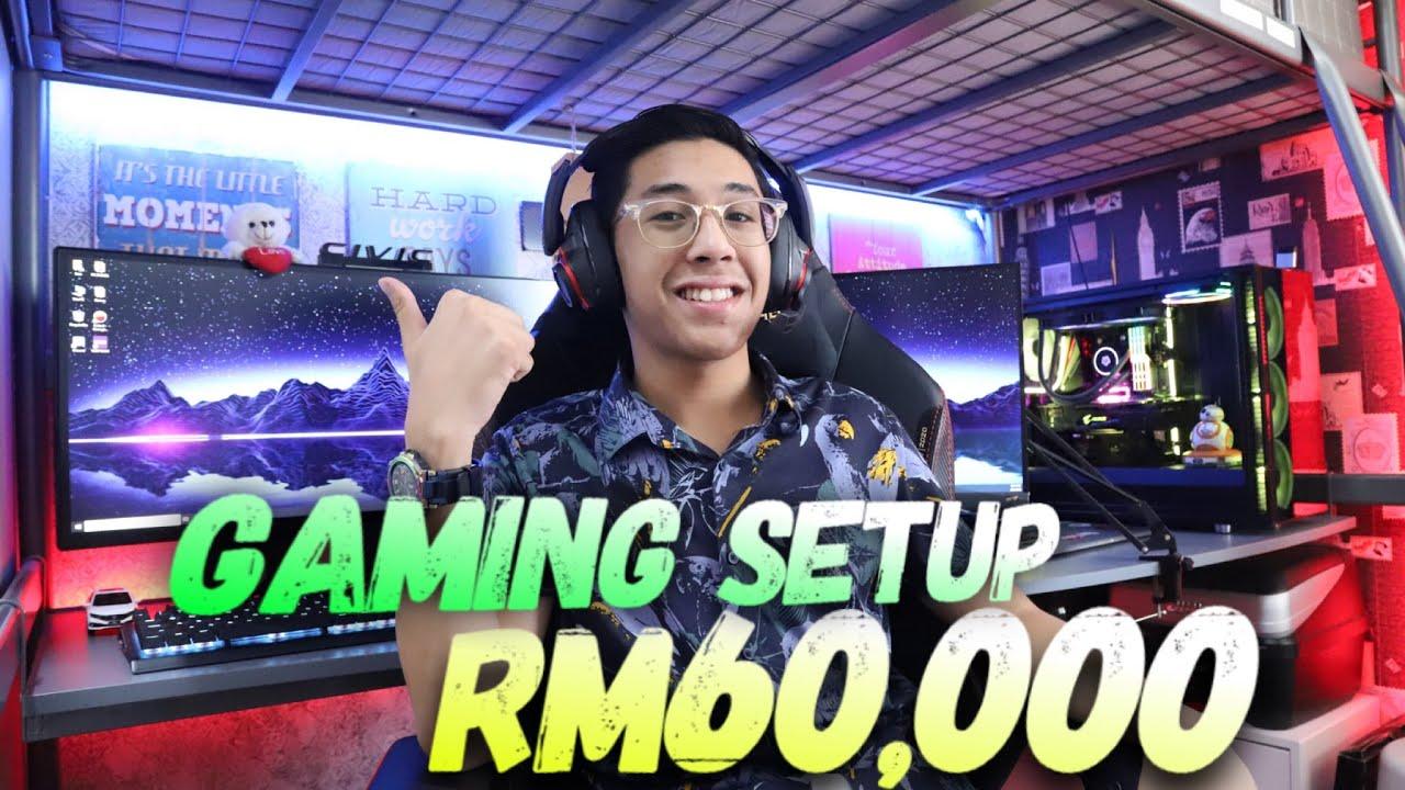 GAMING SETUP PALING GANAS DI MALAYSIA!!!