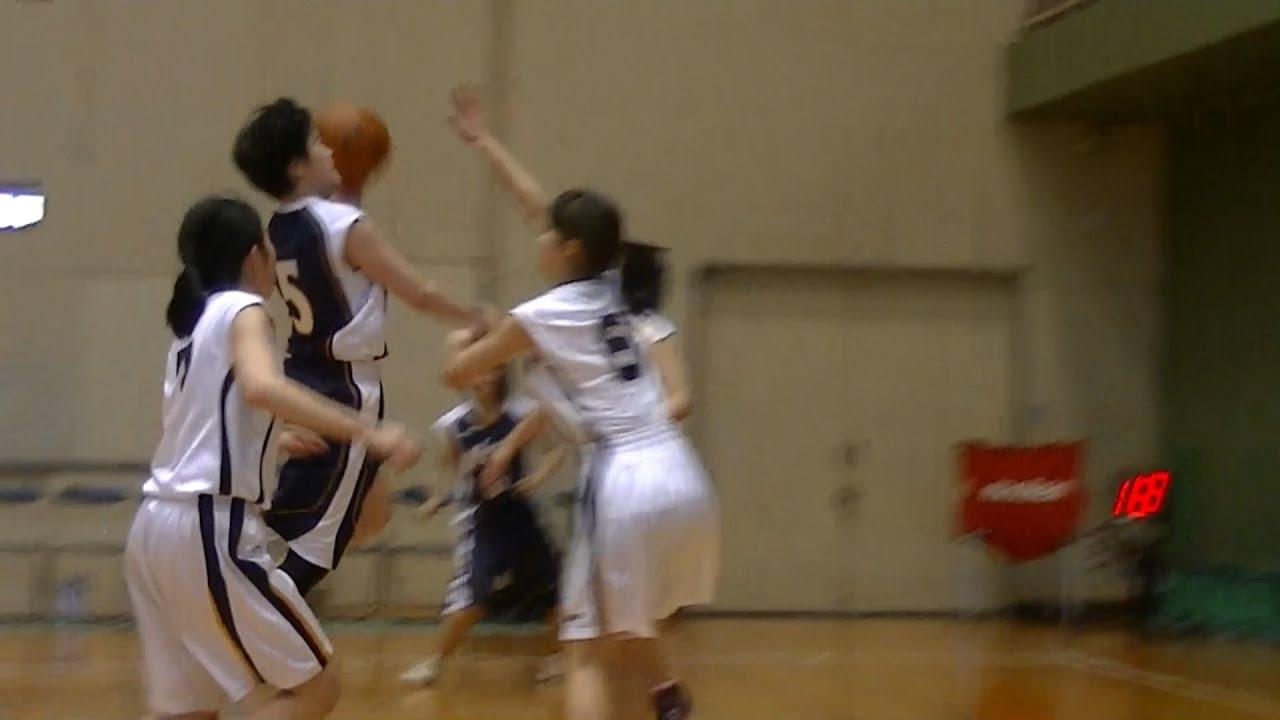 中学女子バスケット 越谷市春季大会 前半