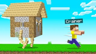 MINECRAFT But HOUSES Are ANGRY! (Scary)
