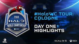 Halo World Championship Tour: Cologne - Day 1 Highlights