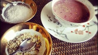 Kashmiri Chai Recipe (Tea Time) (in Urdu/Hindi) by Sehar Syed