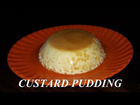 how to make CUSTARD PUDDING/CARAMEL CUSTARD